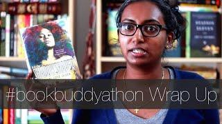 #bookbuddyathon Wrap Up