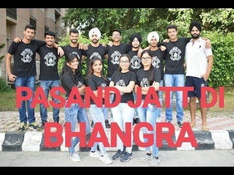 PASAND JATT DI | BHANGRA | QISMAT | AMMY VIRK | LATEST PUNJABI SONG 2018