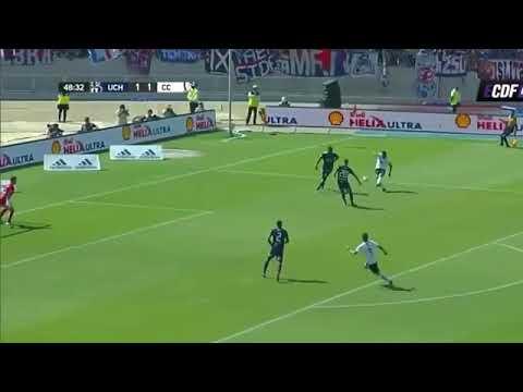 El mejor gol de Paredes en el clasico Colo Colo 3 -1  U de Chile 2018