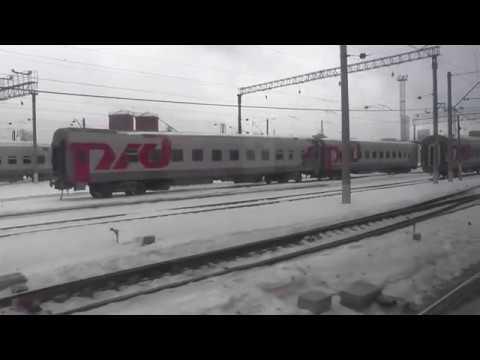 Отправление с Киевского вокзала Москвы