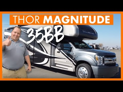 2020 Thor Magnitude 35BB - Super C Diesel- Ford F550 Chassis