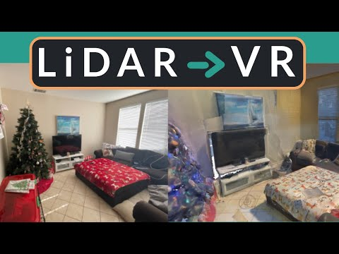 LiDAR Scanning My House into VR and 3D Printed My Car!