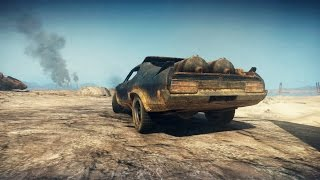 Mad Max PS4 - The Map From End To End