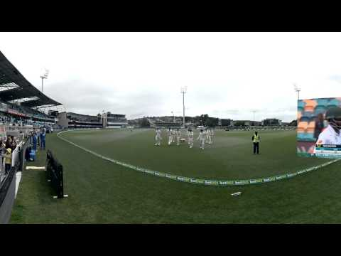360: South Africa's morning in Hobart
