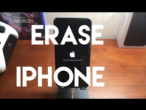 How to Reset iPhone to Factory Settings & ERASE ALL CONTENT! ANY IPHONE!
