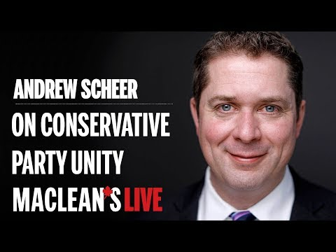 Andrew Scheer on Maxime Bernier and Conservative unity