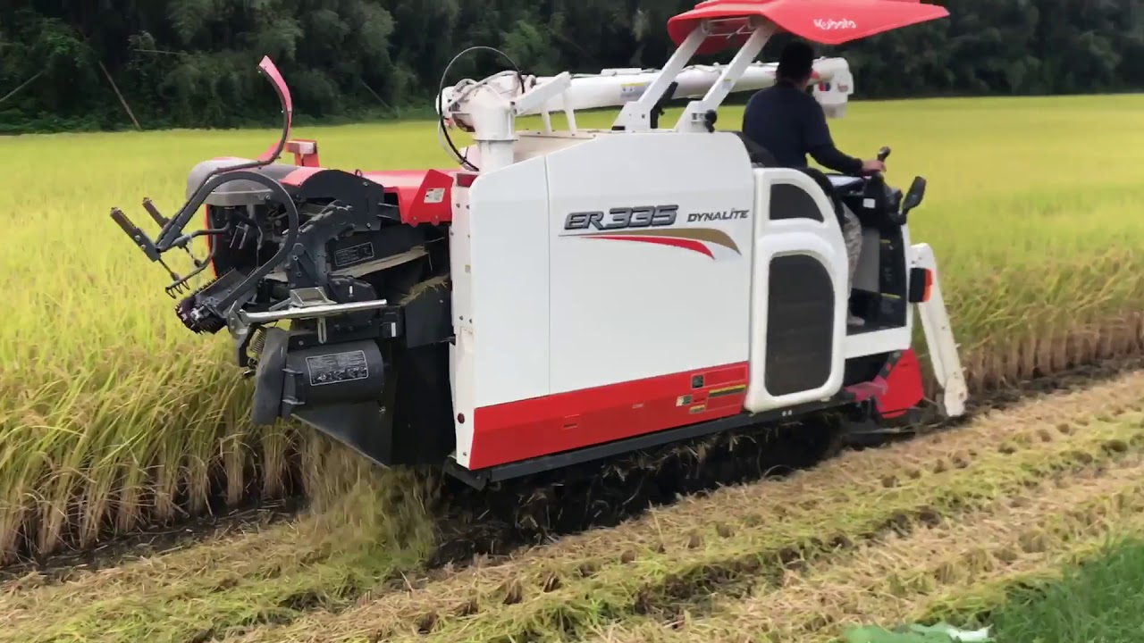 Download Amazing Rice Harvester in Japan