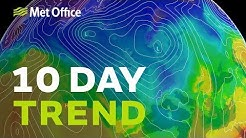 10 Day trend – Cold winds… but will they bring snow? 23/01/19