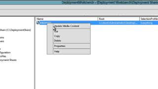 MDT 2013 - Creating an ISO Boot Media