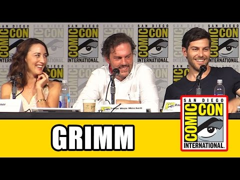 Grimm Comic Con Panel - Season 5, David Giuntoli, Claire Cof