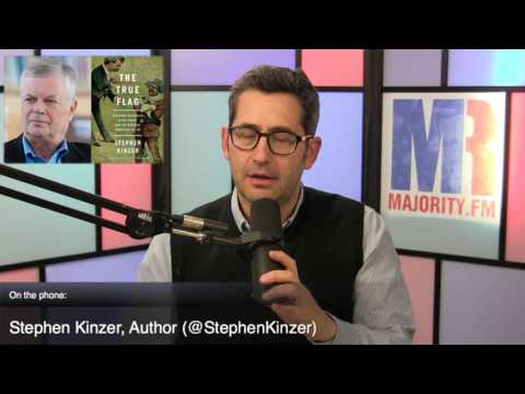 Stephen Kinzer: Theodore Roosevelt, Mark Twain, and the Birth of American Empire - MR Live - 2/22/17