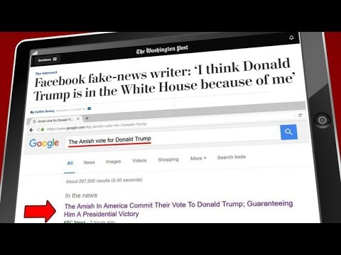 Did fake news help put Trump in the White House?
