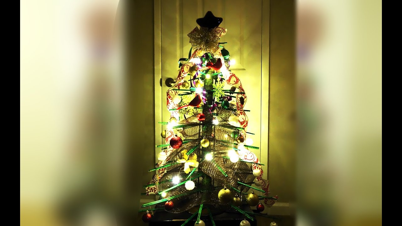 DIY - Christmas Tree - 3Ft - Handmade - Recycled - Craft Idea - Best ...