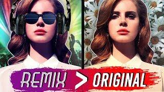 10 REMIXES mais FAMOSOS que as músicas ORIGINAIS! 🎧➡️🎵