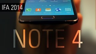 Обзор Samsung Galaxy Note 4(Купить Samsung Galaxy Note 4: http://www.up-house.ru/brands/samsung/galaxy/note Обзор Samsung Galaxy Note 4 с выставки IFA 2014 ..., 2014-09-04T12:55:07.000Z)