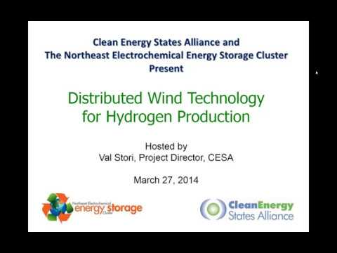 Distributed Wind Technology For Hydrogen Production (3.27.2014)