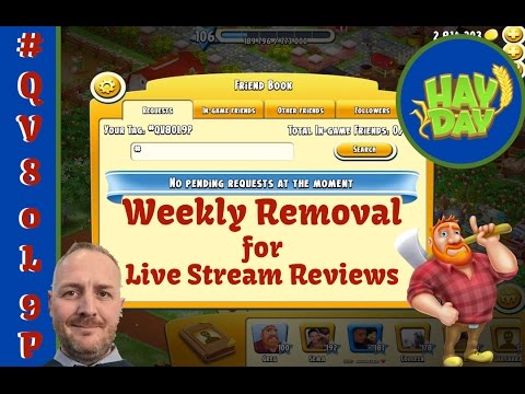 Hay Day – Friends Book – Removal and Reviews Reason