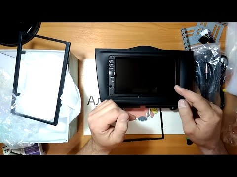 Распаковка и Обзор 2 Din магнитолы с навигацией для Lada Granta 2 C Алиэкспресс.