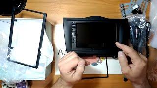 распаковка и Обзор 2 Din магнитолы с навигацией для Lada Granta 2 c Алиэкспресс