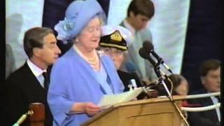 HMS Ark Royal Commissioning - 1st November 1985