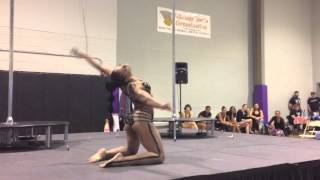 "1st Place Winner (Instructor Division): Zippora ""Island"" Lewis ...Tri-State Pole Invitational 2013 -"