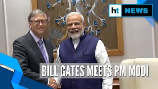 Bill Gates meets PM Modi, attends NITI Aayog event on Indian health system