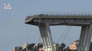 Genova, si continua a scavare a quattro giorni dal crollo