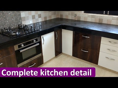 Complete Kitchen Design With Detail  YouTube