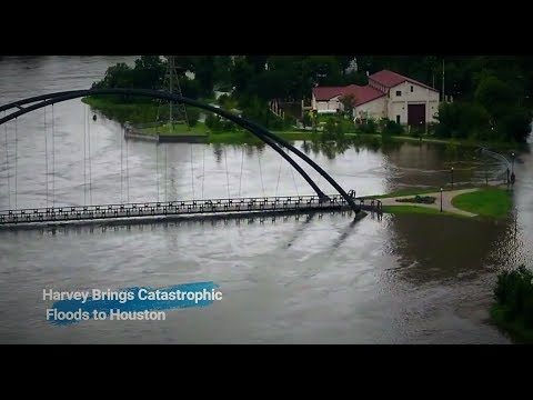 Harvey Brings Catastrophic Floods! Houston Citizens Trapped- Inundaciones