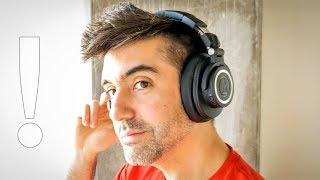 Audio-Technica M50xBT Review: Travel Test!