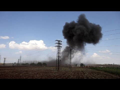 Intensos Bombardeos Rusos En La Provincia Siria De Idlib
