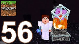 Minecraft: Pocket Edition - Gameplay Walkthrough Part 56 - Survival (iOS, Android)