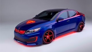 Superman's Kia Optima Hybrid 2013 Videos