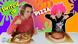 MYSTERY BOX  SWITCH UP CHALLENGE PIZZA EDITION!! Enreda2