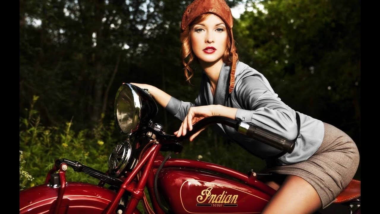 Motorcycle heaven junk yards and forgotten motorcycles - Pin up desktop backgrounds ...