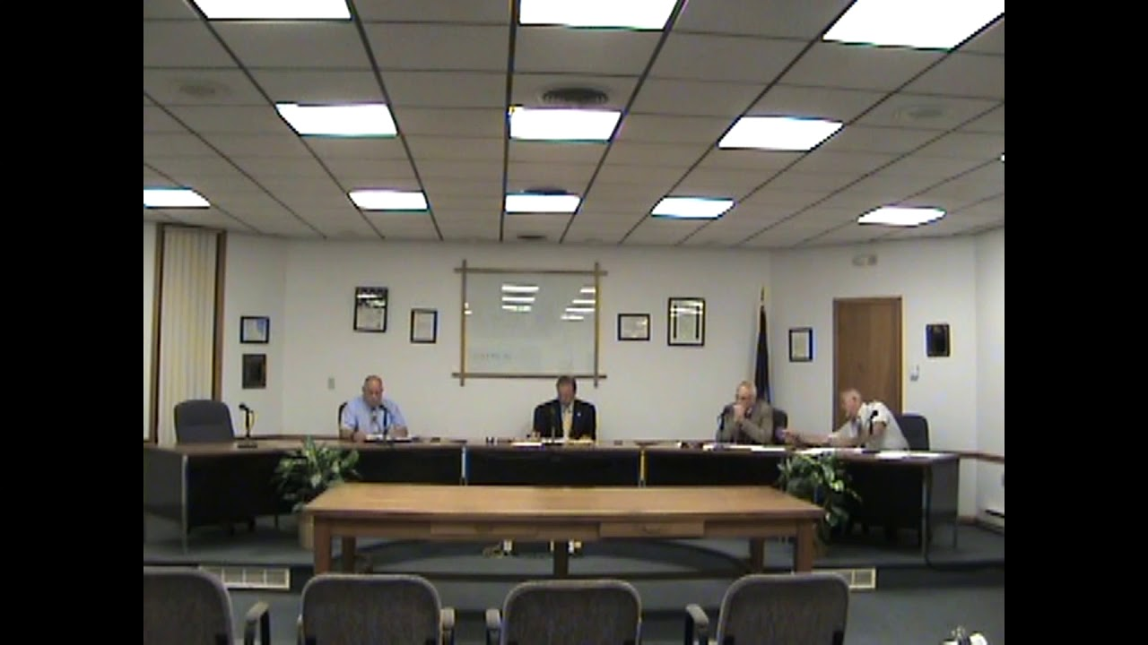 Rouses Point Village Board  9-5-17
