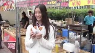 11月14日、2010Jリーグ特命PR部女子マネの足立梨花さんが岐阜メモリアル...