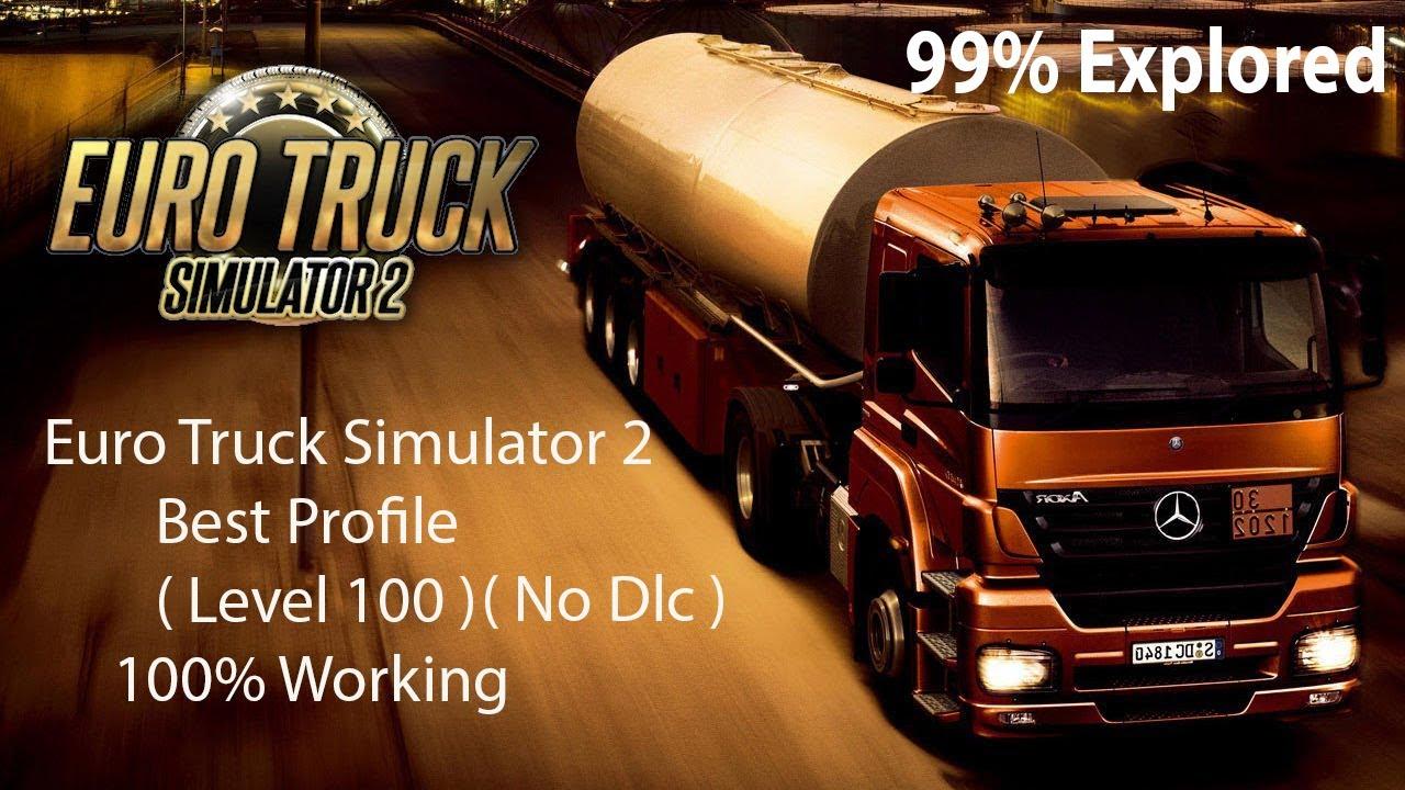 Euro Truck Simulator 2 Best Profile (100% Working)(No Dlc Required)