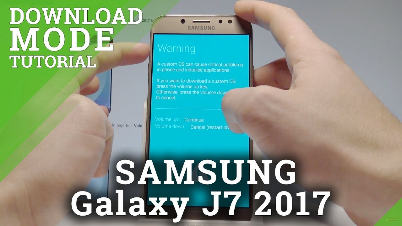 Download Mode SAMSUNG J730 Galaxy J7 2017 - HardReset info
