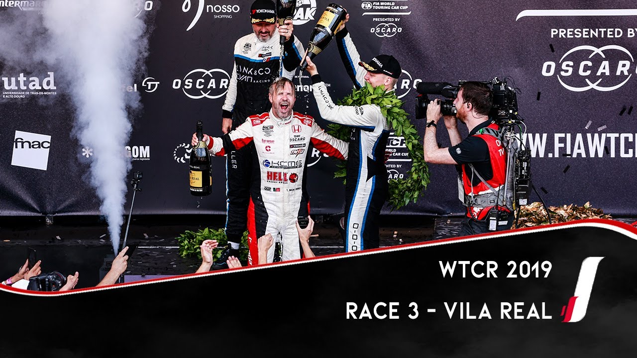 Race 3 - Vila Real 2019 - Tiago Monteiro's emotionally-charged home win | WTCR