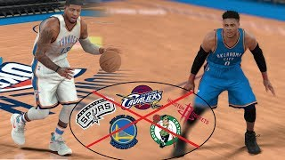 What If The Top 5 NBA Teams Left The NBA? NBA 2K17 Gameplay!