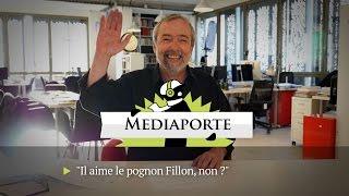 MediaPorte: «Il aime le pognon Fillon, non?»