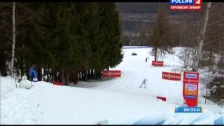 Эстафета ЧМ2013 -сборная России выигрывает бронзу