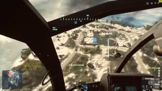 BF 4 Вертоліт: Клавіатура + Миша, Навчальний Полігон