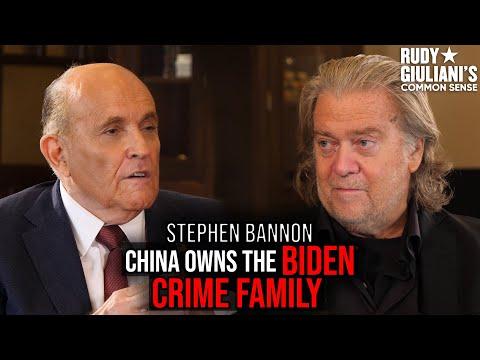 China OWNS The BIDEN Crime Family | Rudy Giuliani and Steve Bannon | Ep. 73