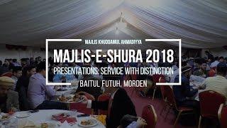 MKA Presentation to Khuddam at Majlis-e-Shura 2018