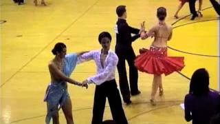 Michigan Ballroom Dance Competition 2012 Novice Latin SemiFinal