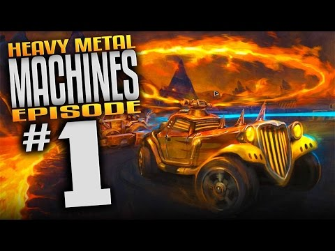 Heavy Metal Machines - Безумный заезд