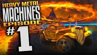 Heavy Metal Machines Gameplay Ep 1 Rock And Roll Racing MOBA Let S Play Heavy Metal Machines