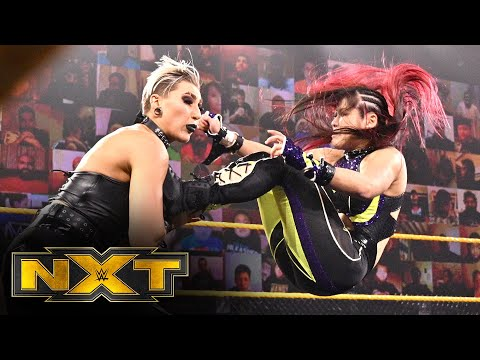 Io Shirai vs. Rhea Ripley – NXT Women's Championship Match: WWE NXT, Nov. 18, 2020